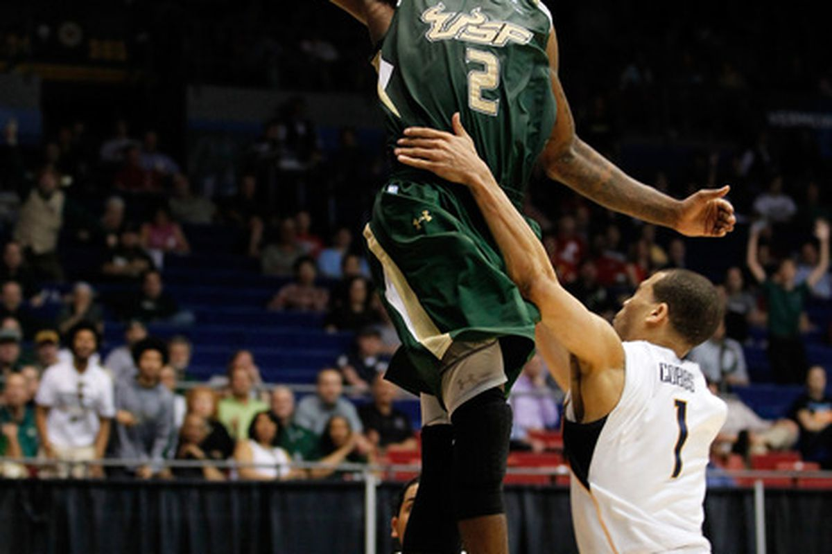Victor Rudd Jr. and the South Florida Bulls will try to do what Cal had hoped to do -- win three games in five days en route to the Sweet 16