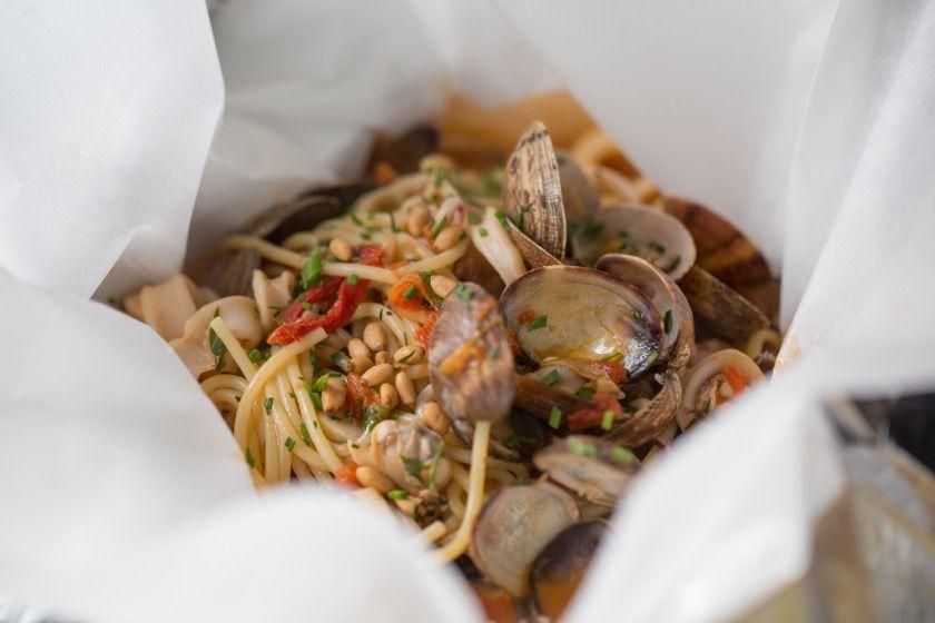 Spasso Seafood Bake