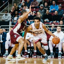 Jerome Robinson (and the BC bench)