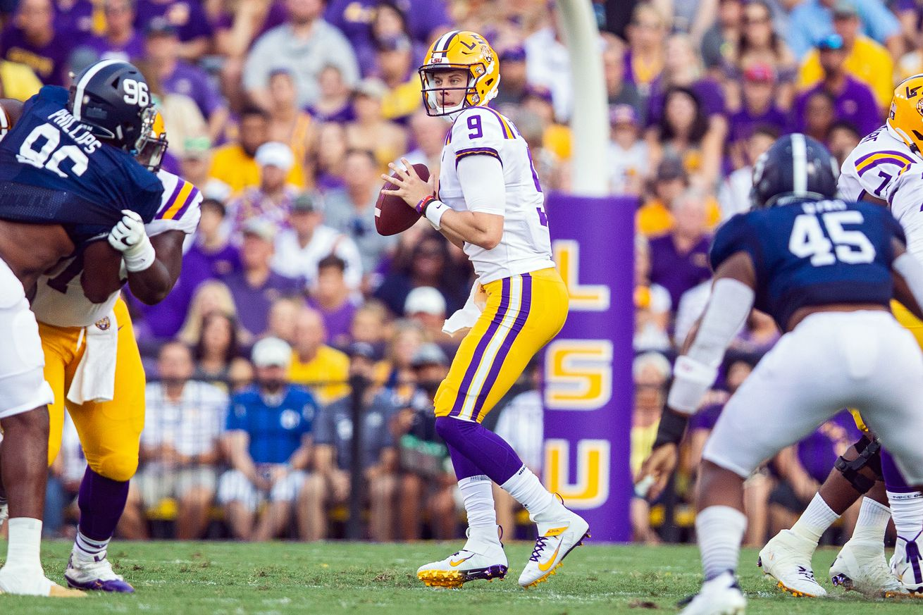 COLLEGE FOOTBALL: AUG 31 Georgia Southern at LSU