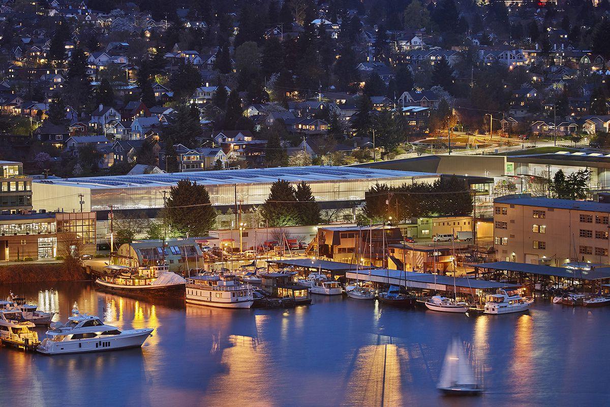 North Transfer Station. Seattle, Washington.