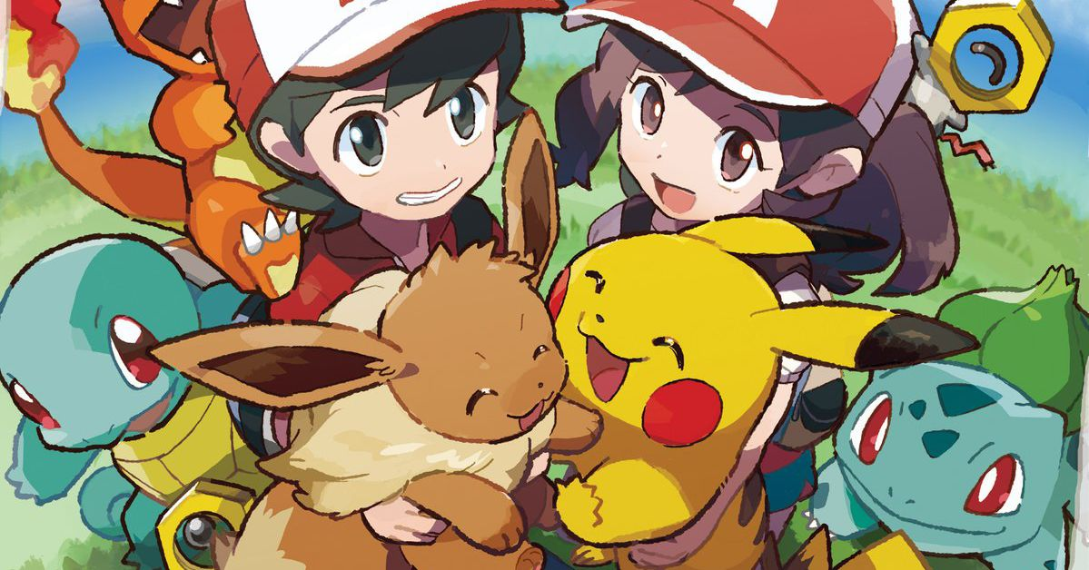 Pokémon: Let's Go! gives you the whole starter trio