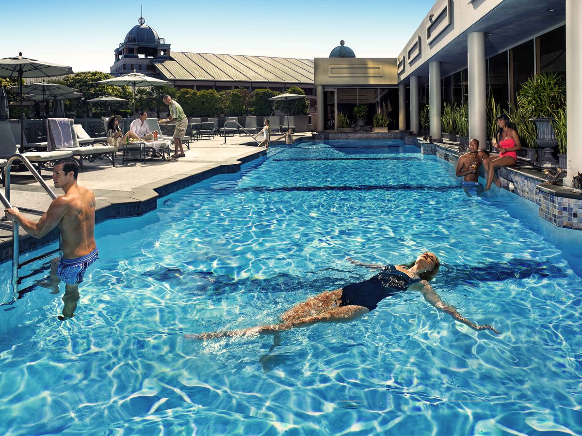 Mapping New Orleans's Best Hotel Pools