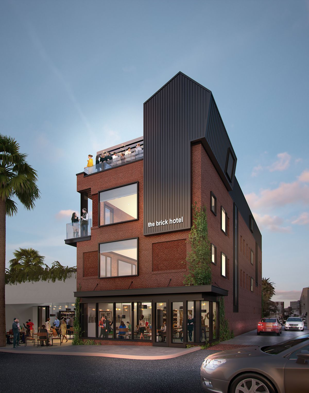 Rendering of The Brick Hotel