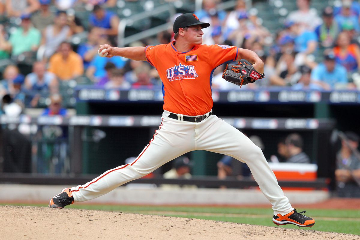 Giants right hander Kyle Crick struck out five in three innings.