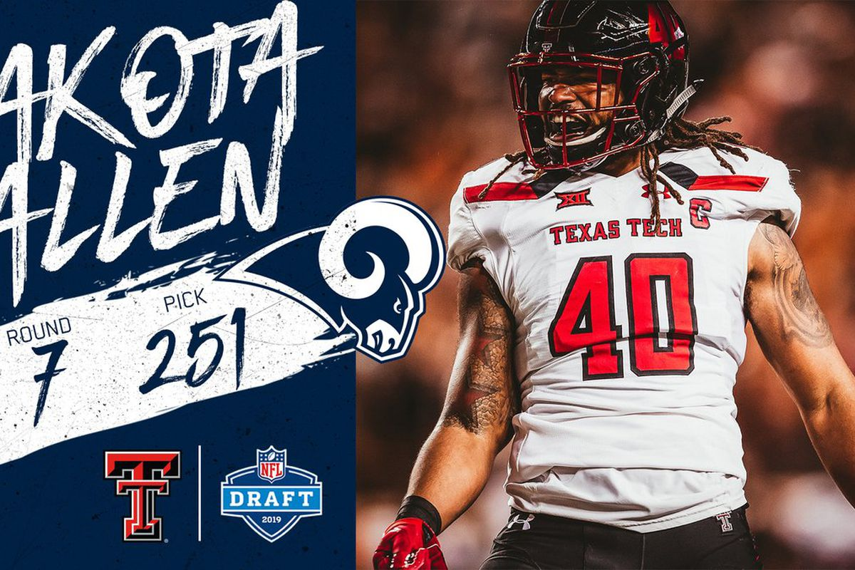 86f4fa3c Breaking: Dakota Allen drafted by the Los Angeles Rams - Viva The ...