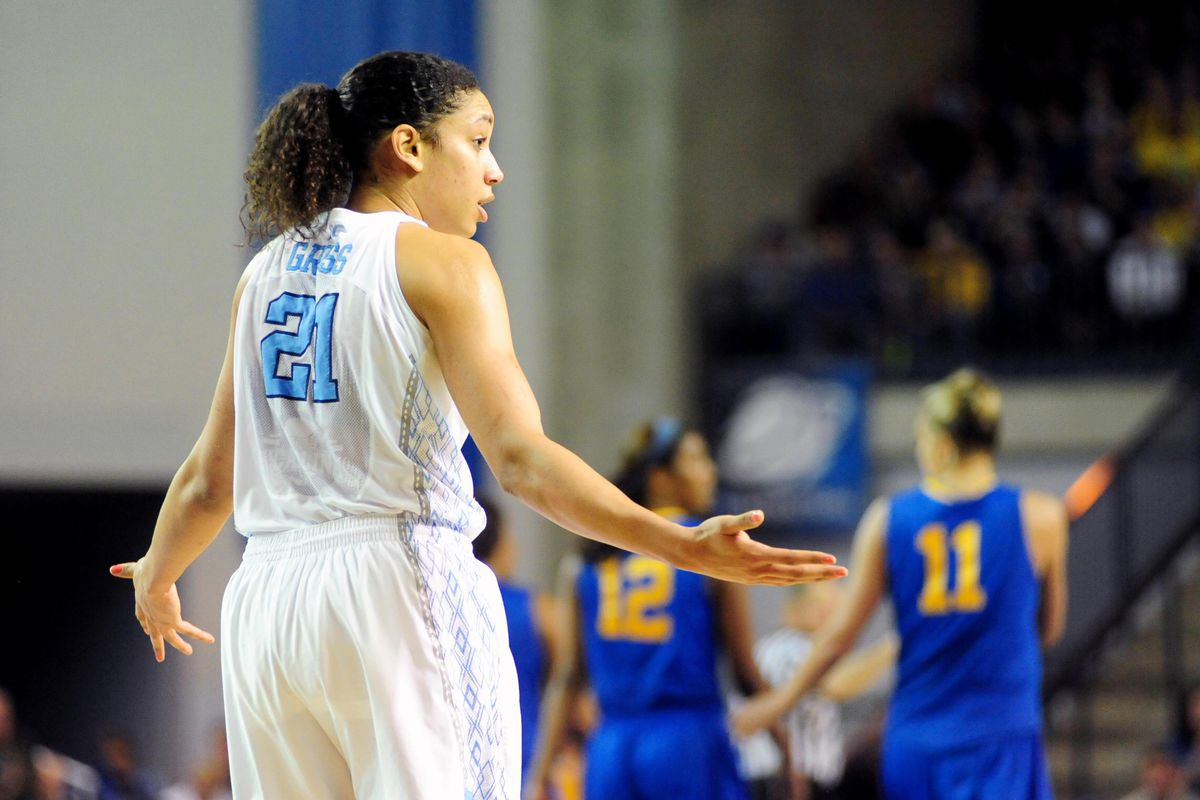 Neither Kristina Gross nor her Tar Heel teammates had an answer for Delaware in the second half on Tuesday night