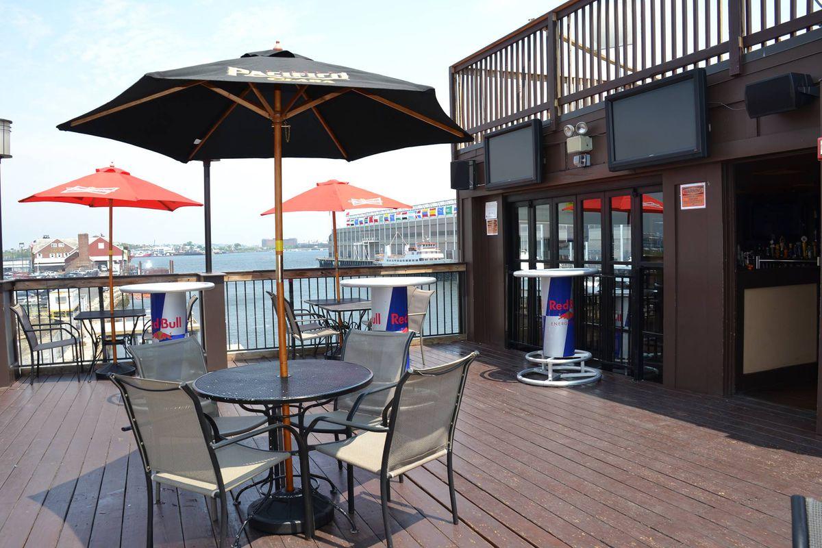 Atlantic Beer Garden Closes In Seaport Ahead Of New Construction Eater Boston