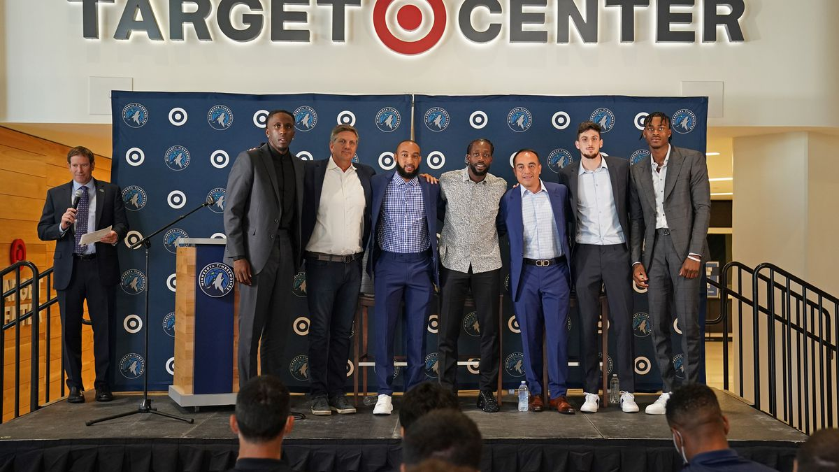 Minnesota Timberwolves Introduce New Players - Press Conference