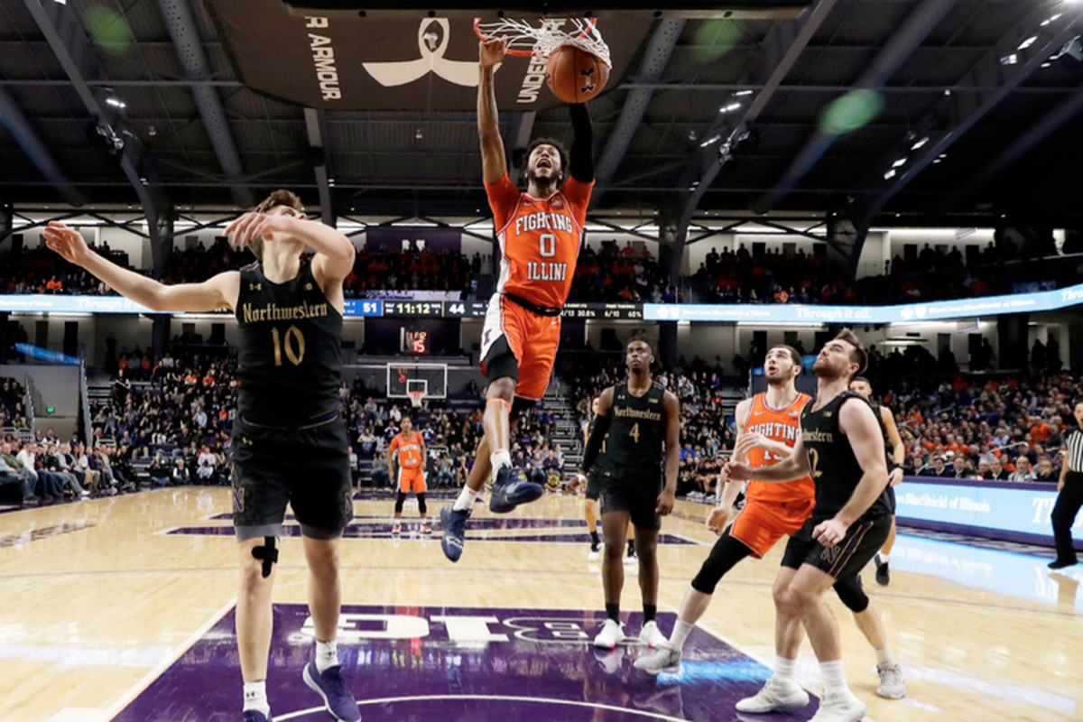 Illinois guard Alan Griffin had career highs of 24 points and six three-pointers Thursday.