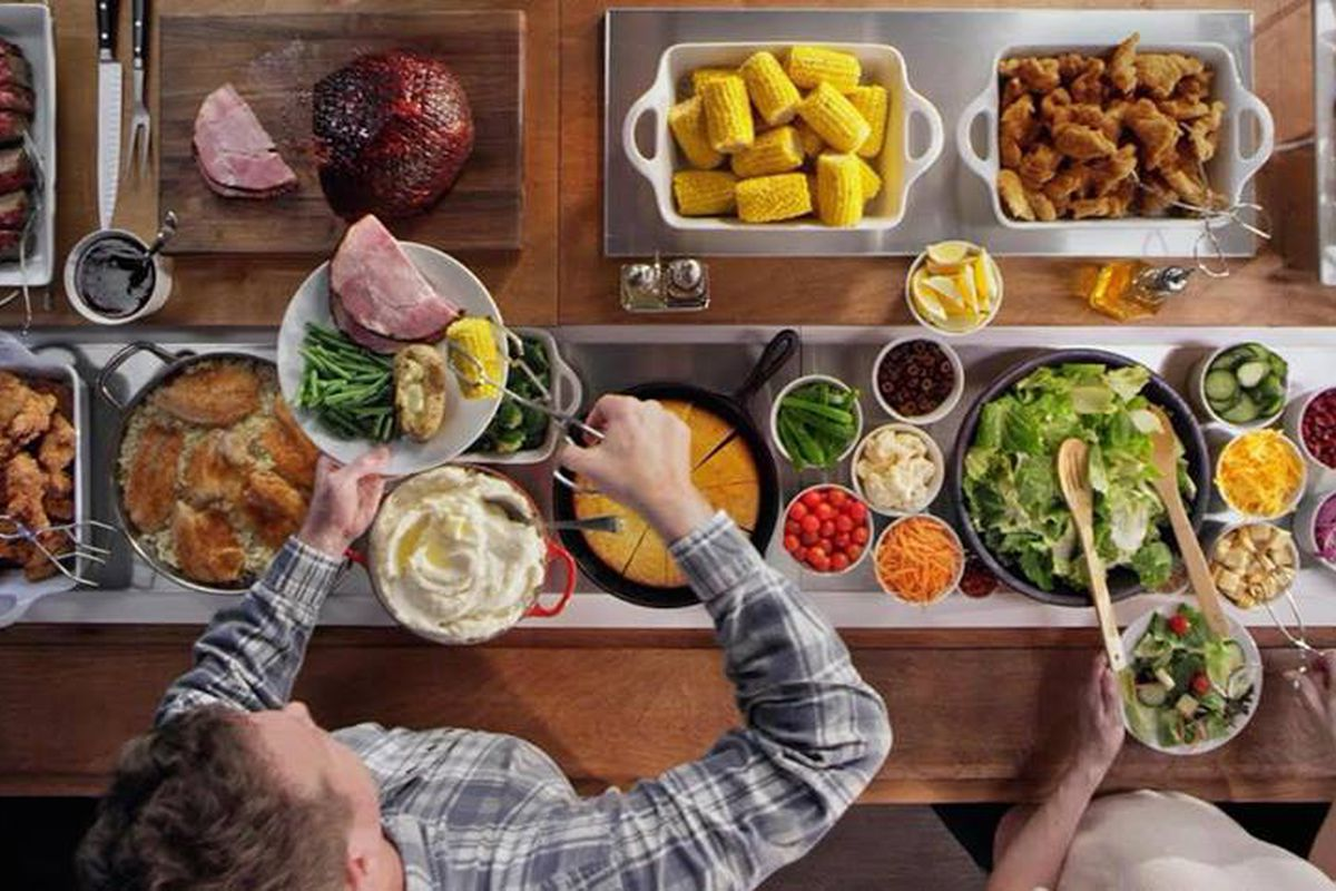 The help-yourself, all-you-can-eat counter that is no longer available at Golden Corral.