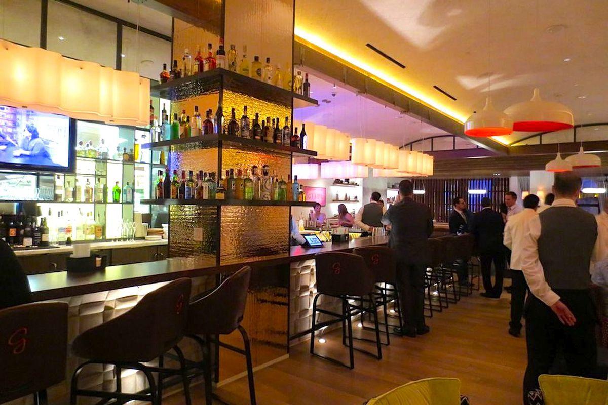 The bar at Giada