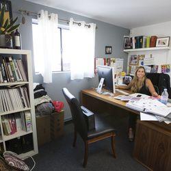 Inside the office of head designer, Osi.