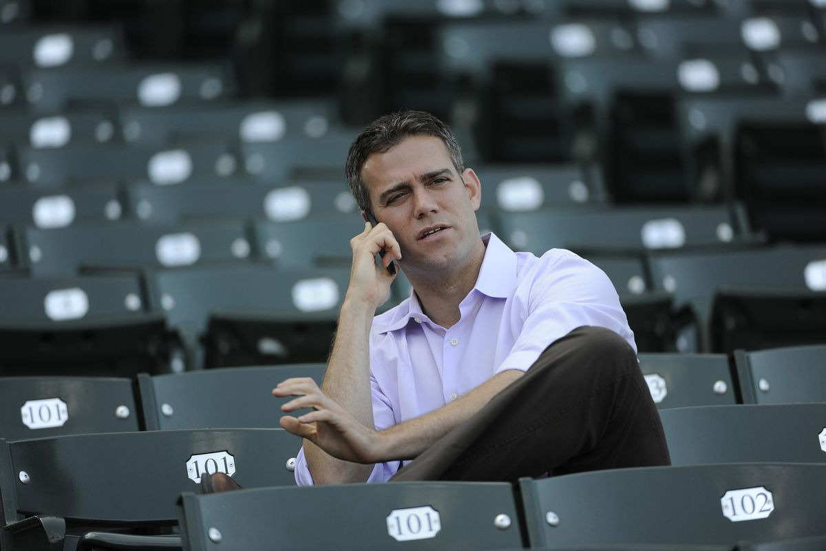 Theo Epstein's phone gets a workout this week