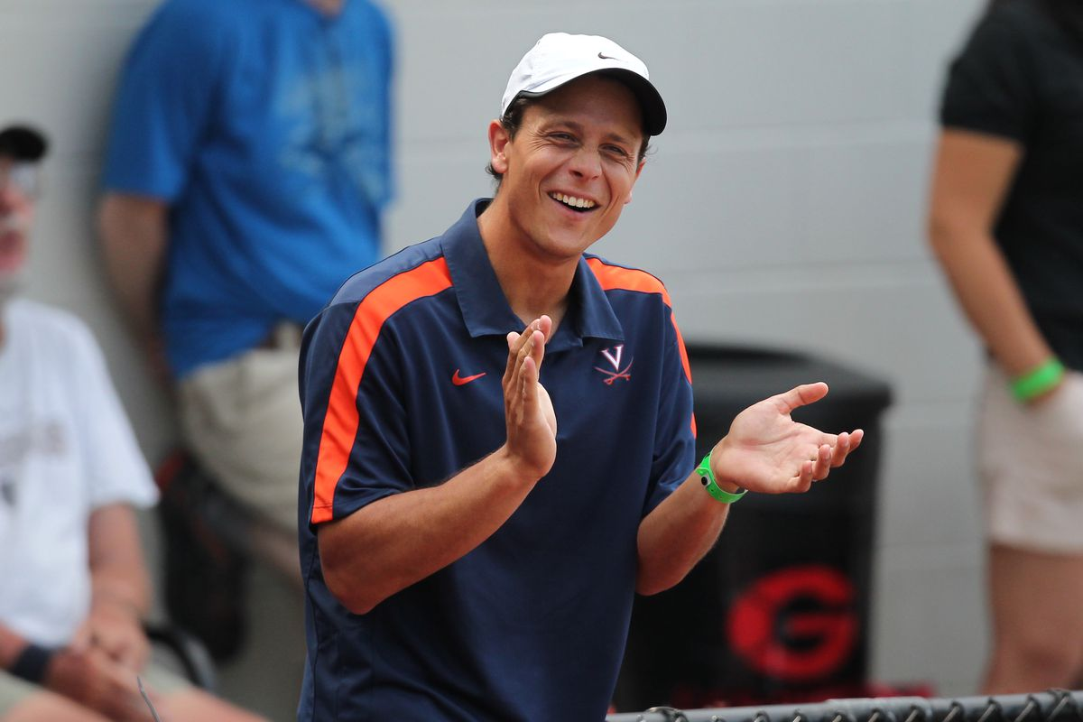 Pedroso taking over as UVA men's tennis coach