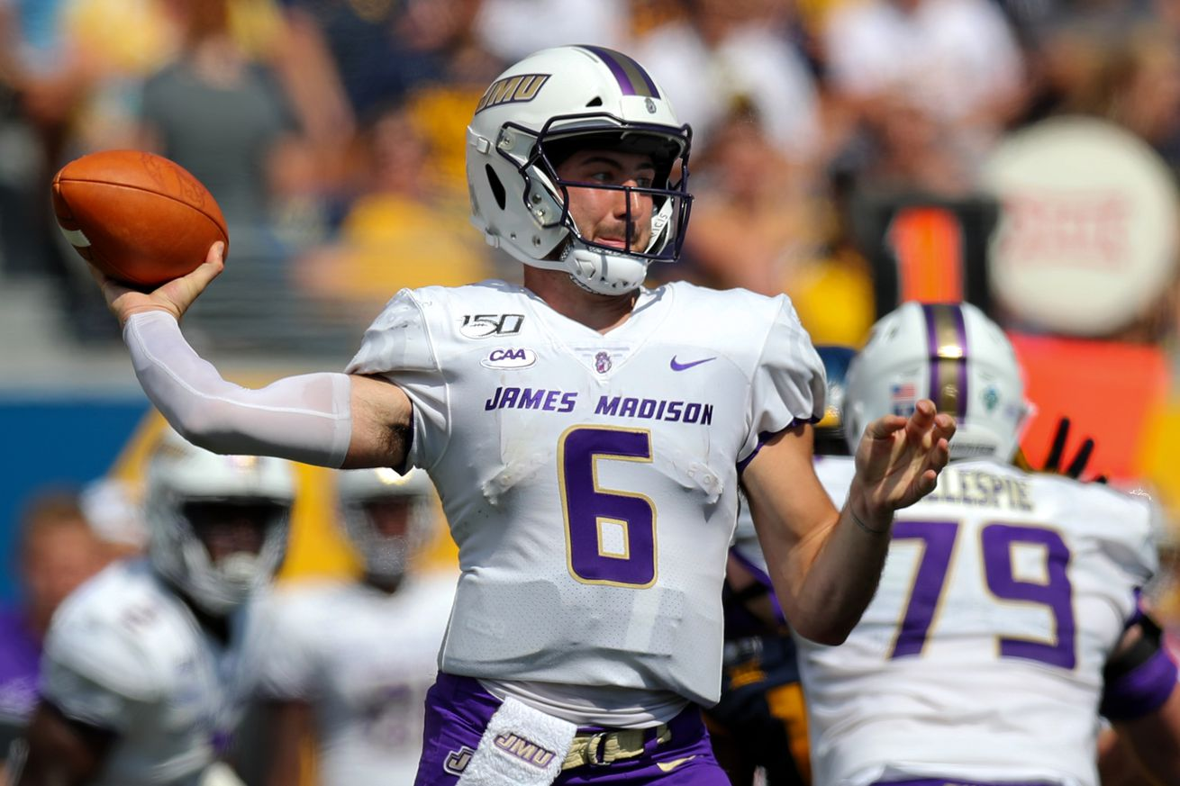 COLLEGE FOOTBALL: AUG 31 James Madison at West Virginia