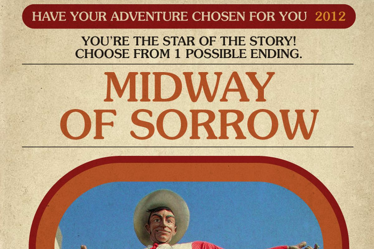 Book Cover White River : Midway of sorrow a have your adventure chosen for you
