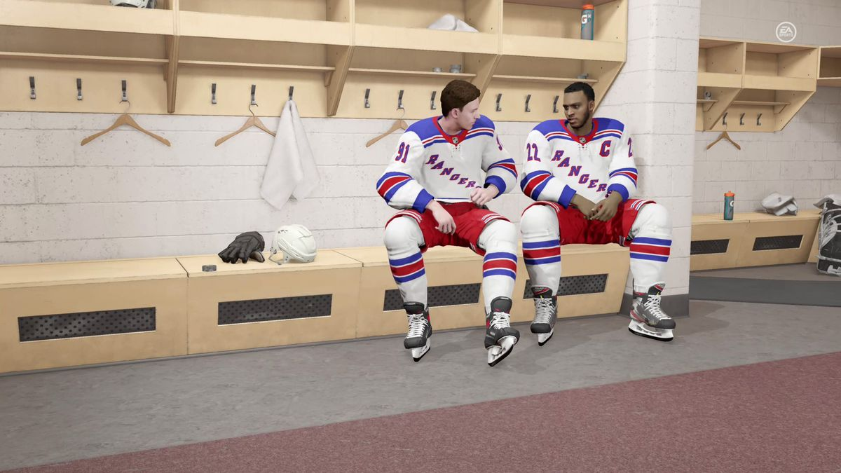 Nhl 21 Review Be A Pro Overhaul Has No Staying Power Polygon