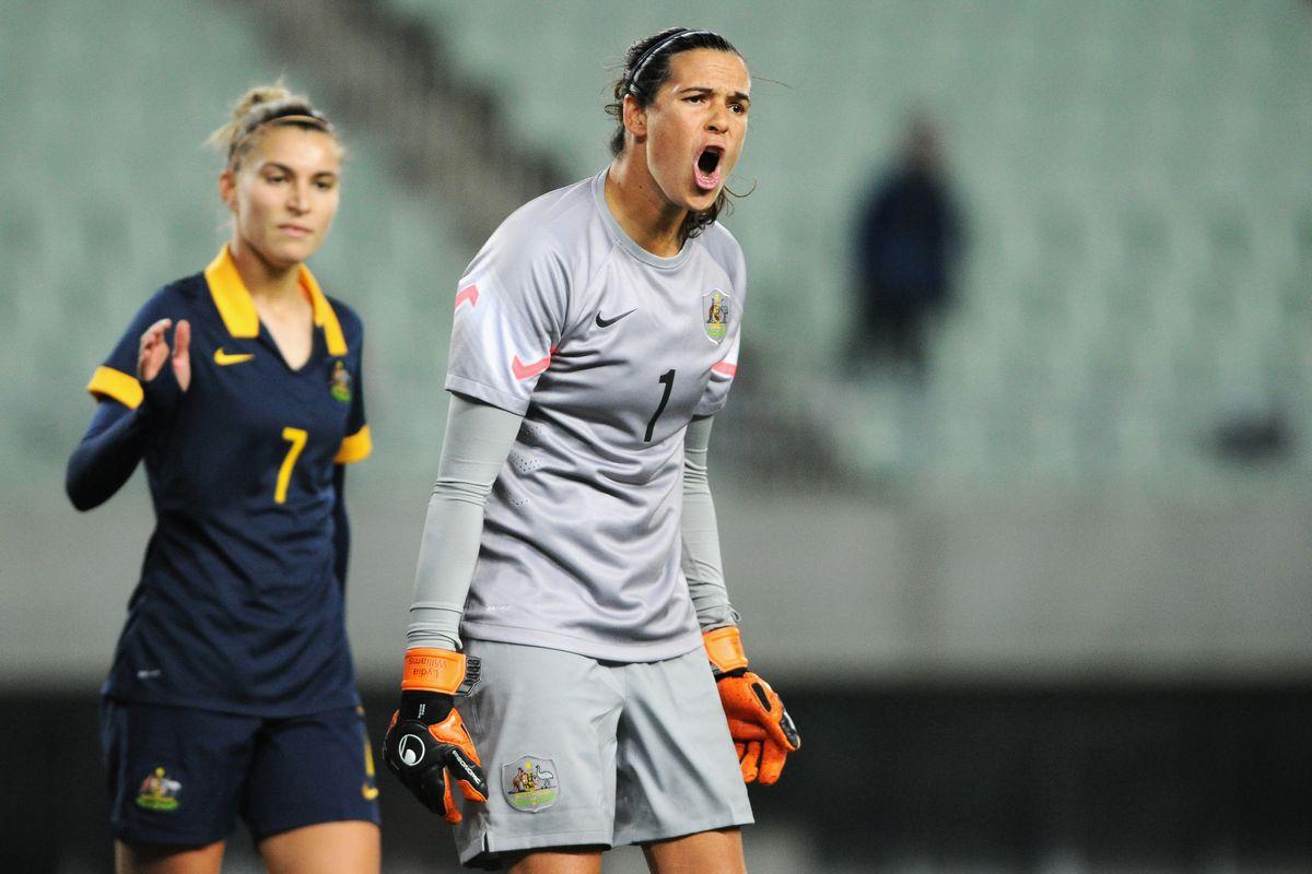 South Korea v Australia - AFC Women's Olympic Final Qualification Round
