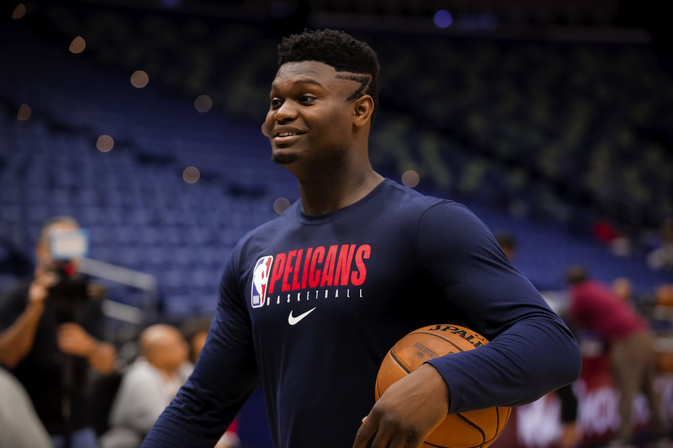 Zion Williamson returns to practice, moves step closer to making NBA debut for New Orleans Pelicans