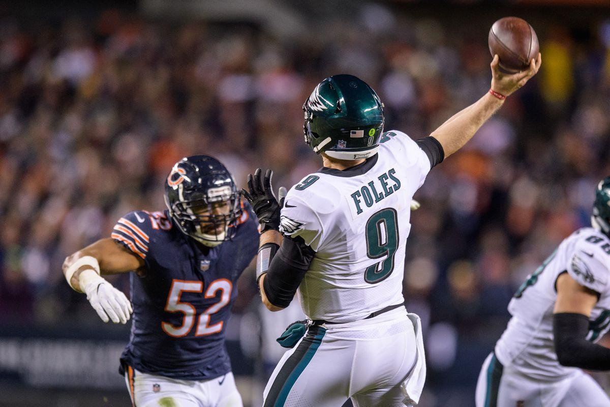 NFL: JAN 06 NFC Wild Card - Eagles at Bears