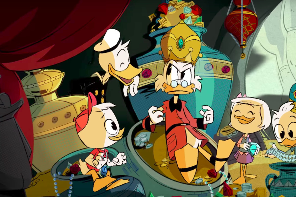 New Home Layouts In The New Ducktales Donald Duck Is The Louis C K Of