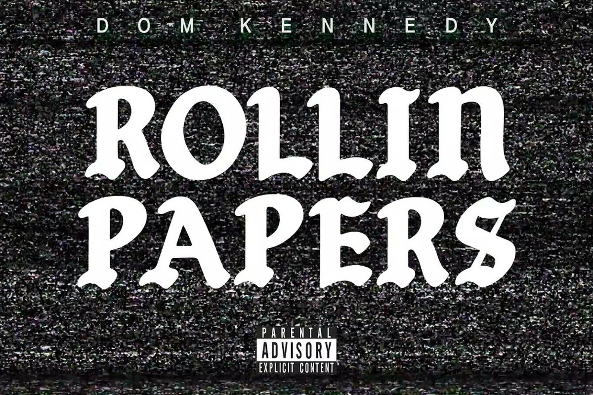 """Dom Kennedy's """"Rolling Papers"""" artwork"""