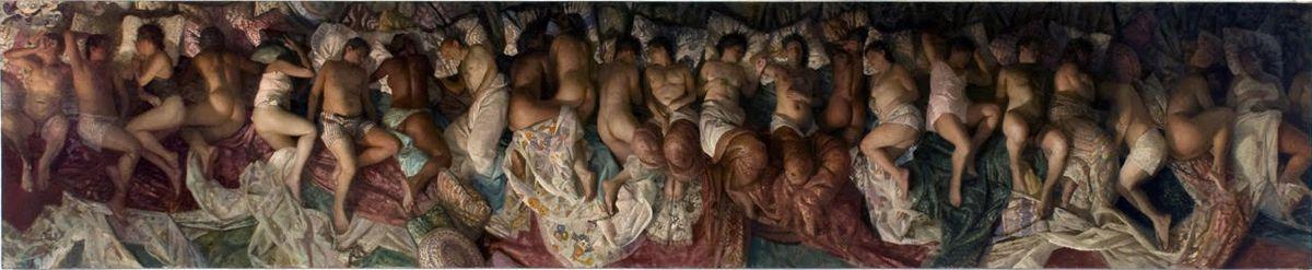 """Sleep,"" Vincent Desiderio"