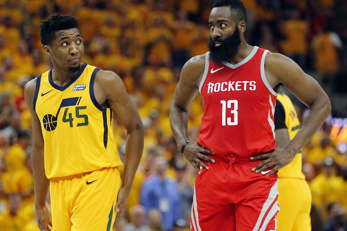 low priced 78b2f d8903 Brad Rock: Donovan Mitchell's All-Star campaign starts now ...