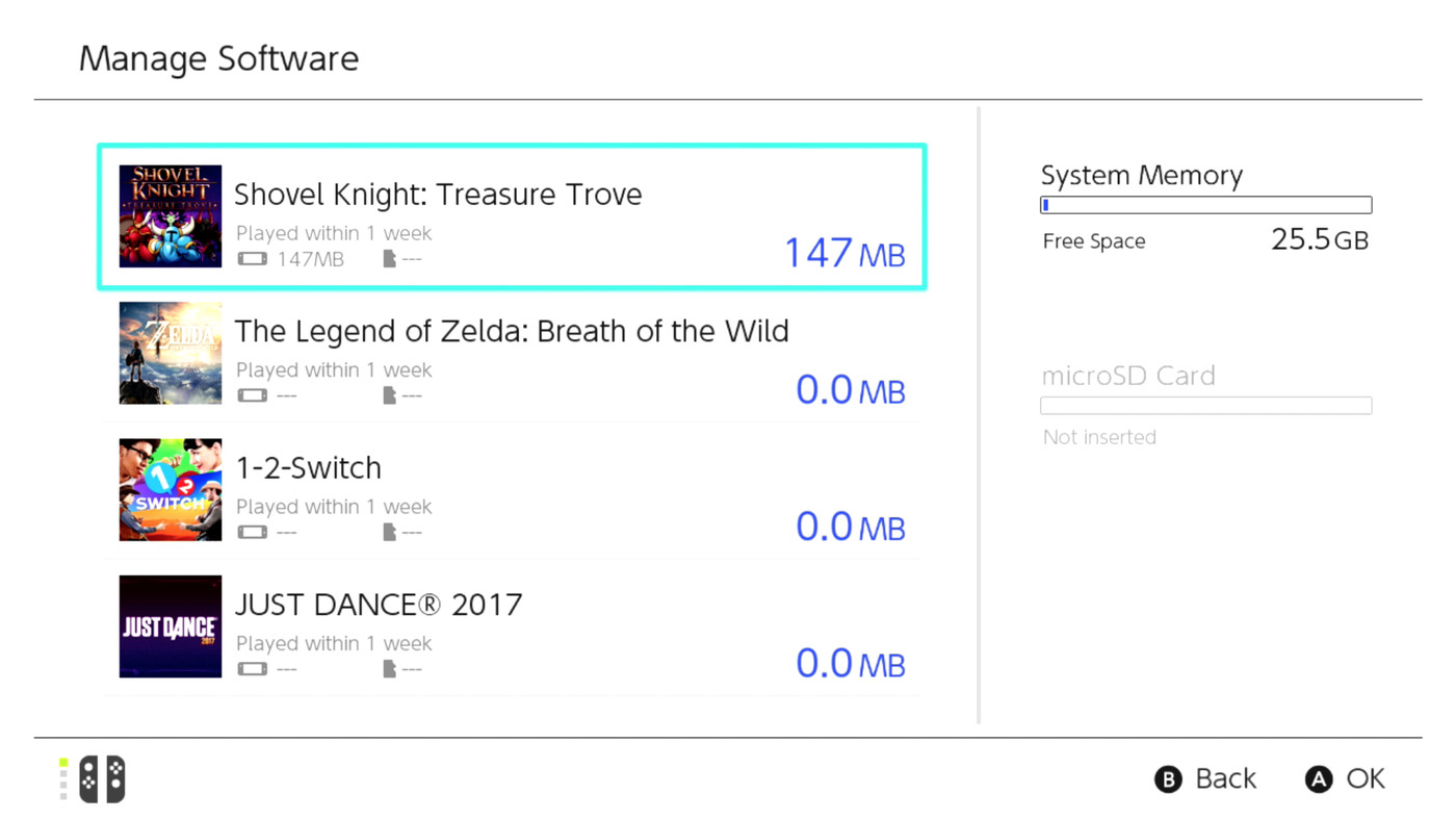 Nintendo Switch save games can't be copied off the console