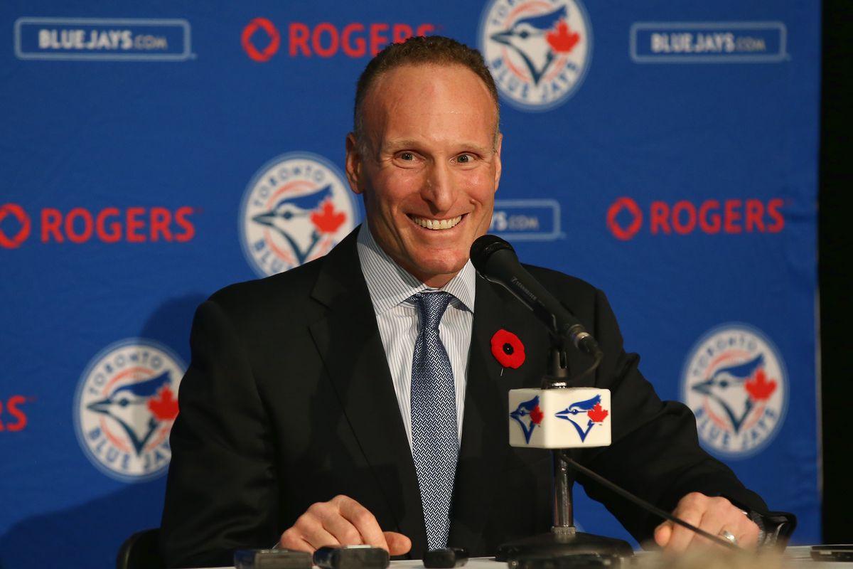 Toronto Blue Jays Introduce Mark Shapiro