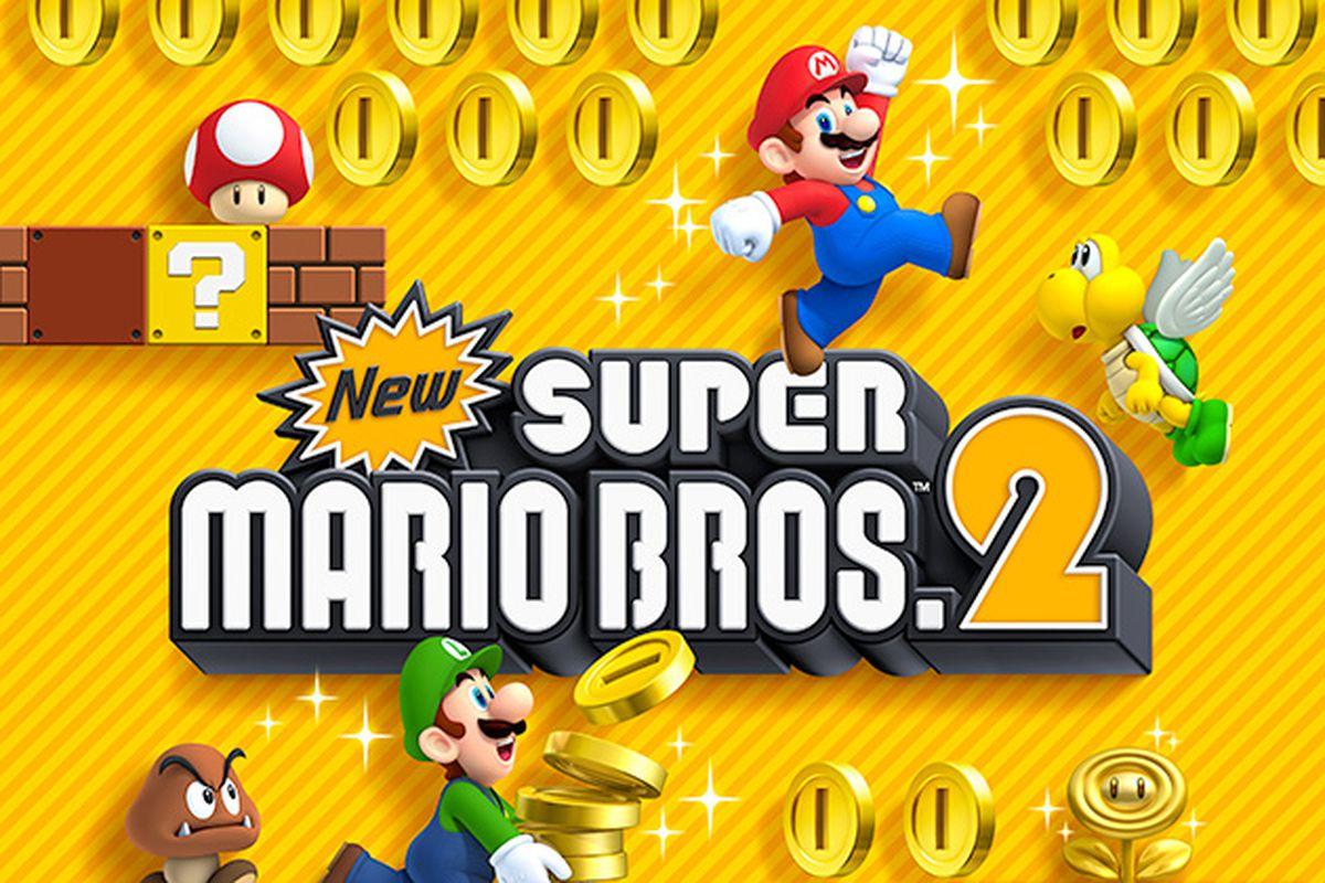 New Super Mario Bros. 2 art