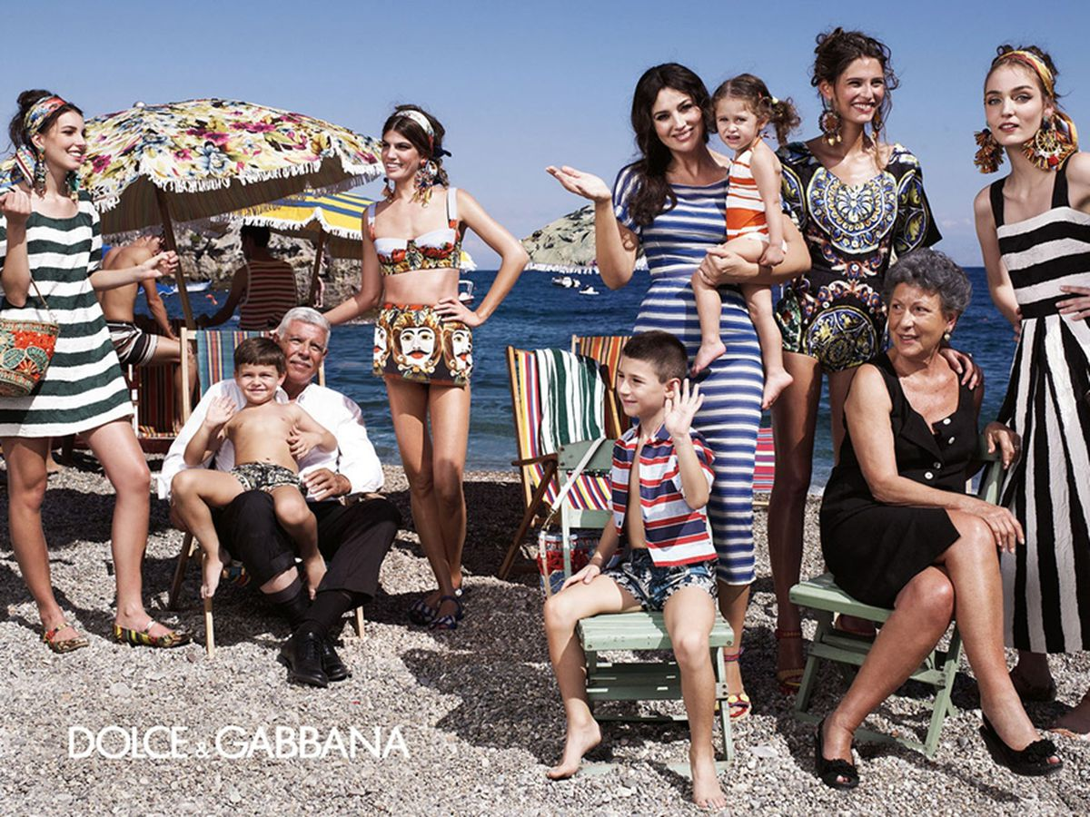The Spring 2013 Dolce & Gabbana campaign