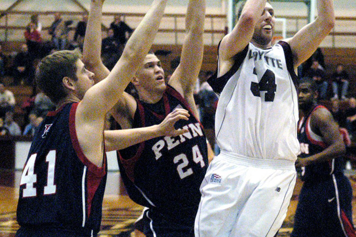 Mintz making a claim as the best Canadian post player in the NCAA. (Joe Gill - Express Times)