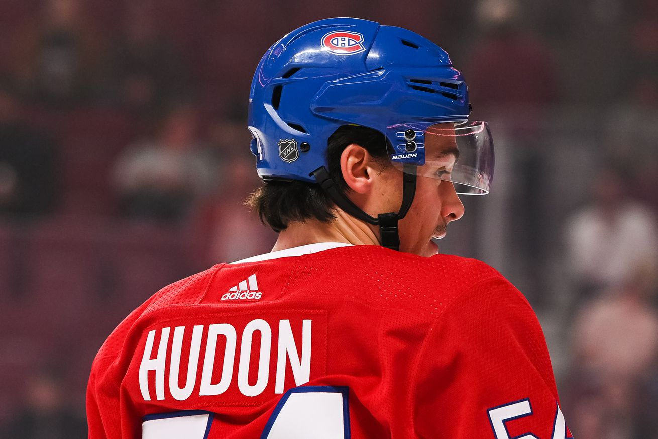 "Joël Bouchard says ""stop feeling bad"" for Charles Hudon"