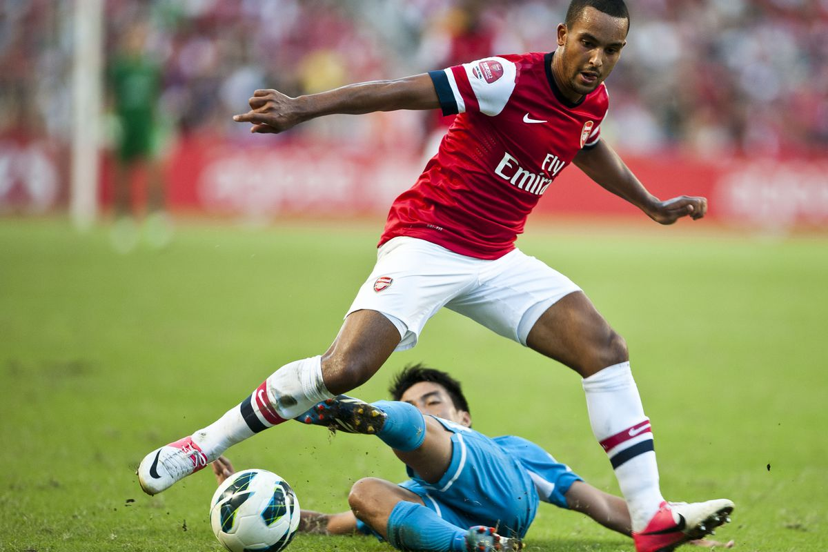 so Theo may have Lamparded the England friendly this week