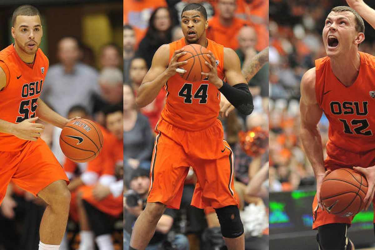 Oregon St. fans are really going to miss Roberto Nelson, Devon Collier, and Angus Brandt after today! Thanks, guys, for some great memories!