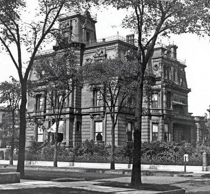 A large mansion.