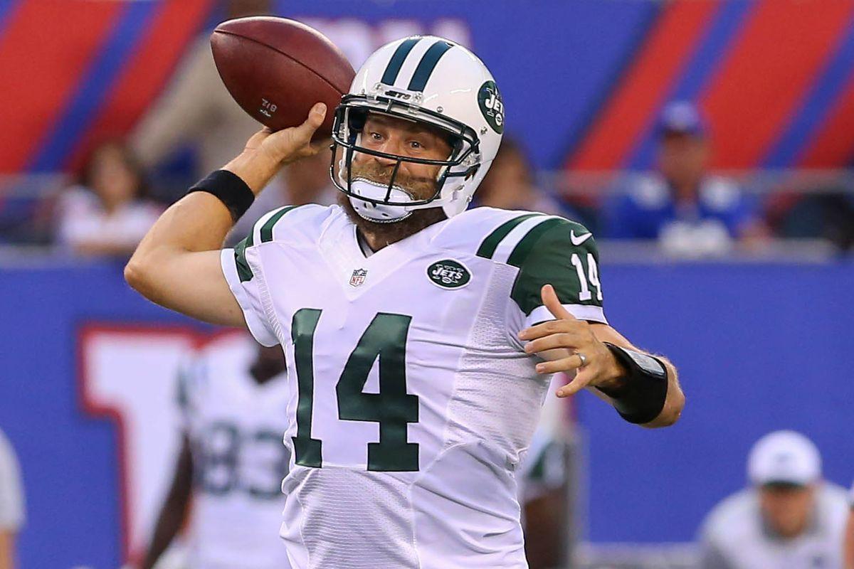 quality design b9174 d2e74 New York Jets Throwback Thursday: Fitzmagic! - Gang Green Nation