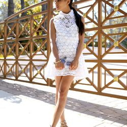 """Olivia of <a href=""""http://lusttforlife.com/"""">Lust for Life</a> is wearing a <a href=""""http://www.revolveclothing.com/DisplayProduct.jsp?product=SHAK-WD80"""">Shakuhachi </a>dress, an <a href=""""http://www.aliceandolivia.com/lucite-box-clutch-1.html"""">Alice & Oli"""