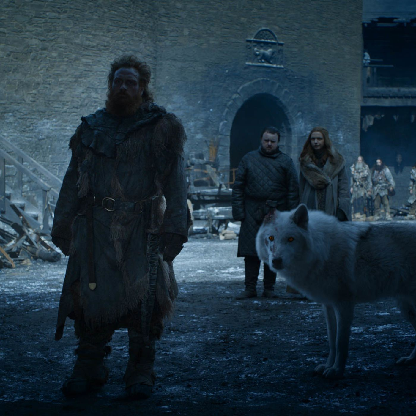 Game of Thrones fans are outraged about what happened to Ghost - Vox