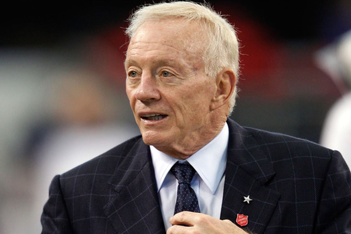 Jerry Jones, owner of the Dailas Cowboys.