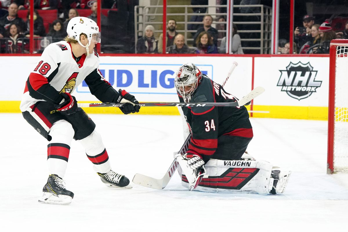 NHL: Ottawa Senators at Carolina Hurricanes