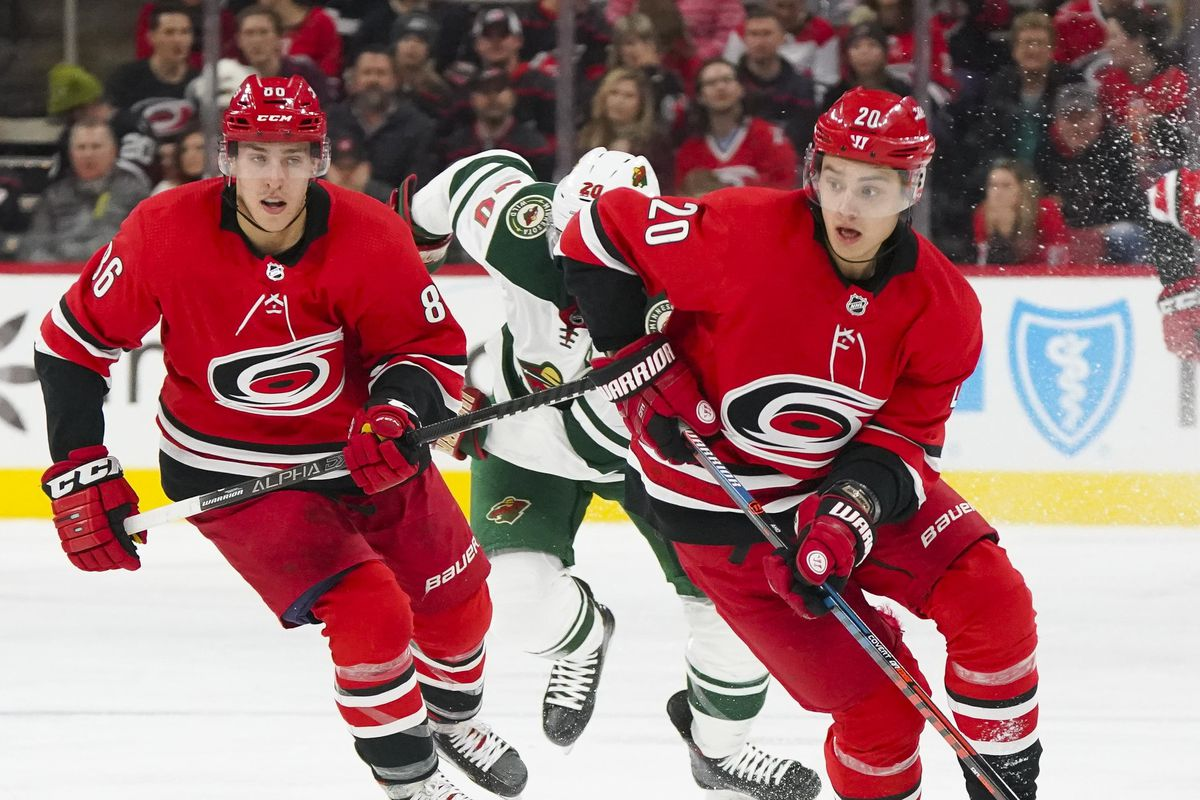 Teuvo Teravainen and Sebastian Aho Are Dominating for the Hurricanes