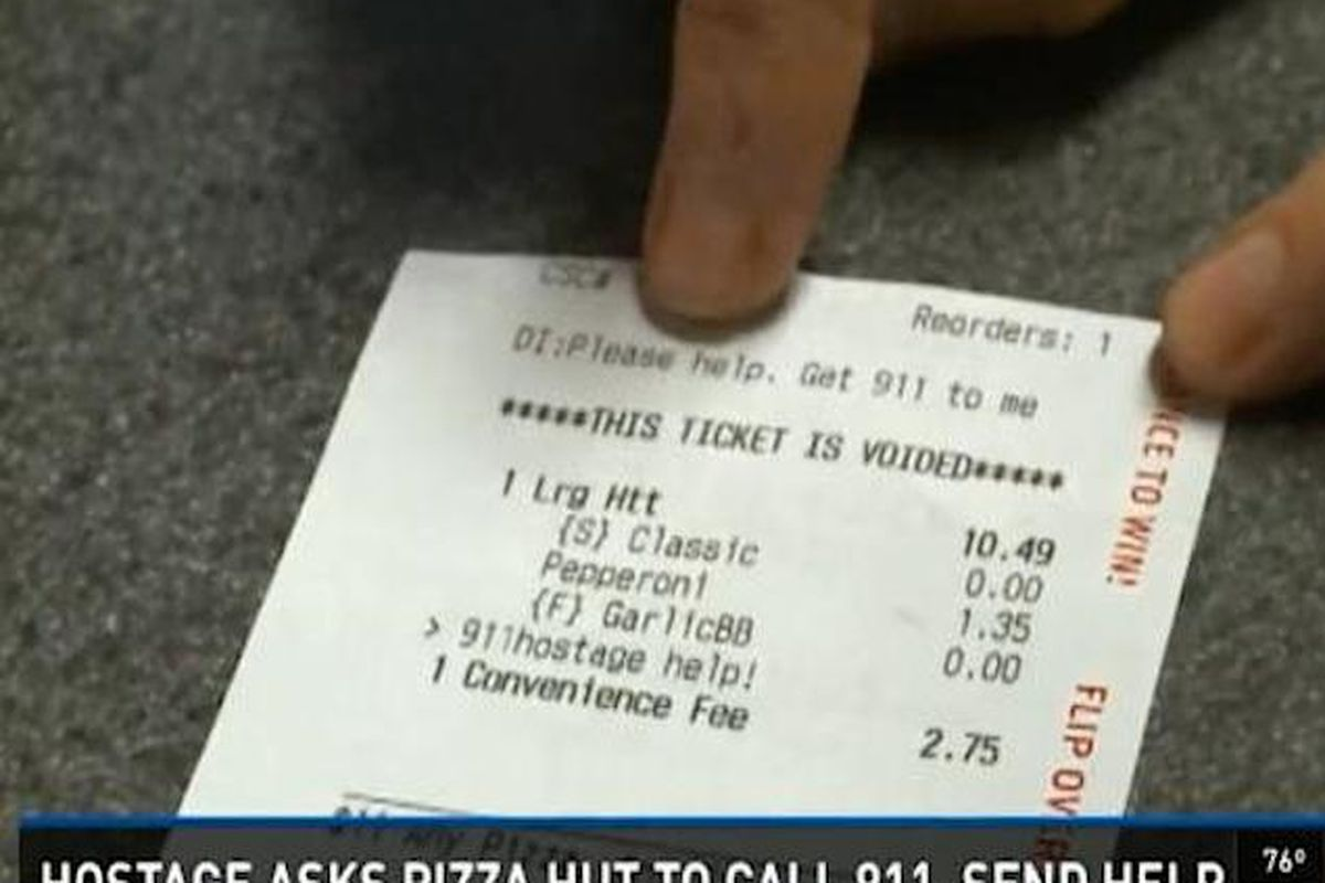 Family Held Hostage Uses Pizza Hut App to Call for Help - Eater