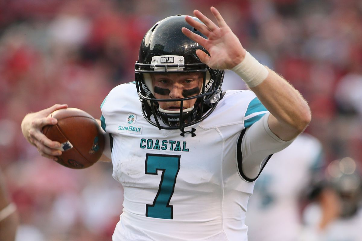 Coastal Carolina Football Preview 2018 Ok Now Fbs Run Can Actually Begin Sbnation Com