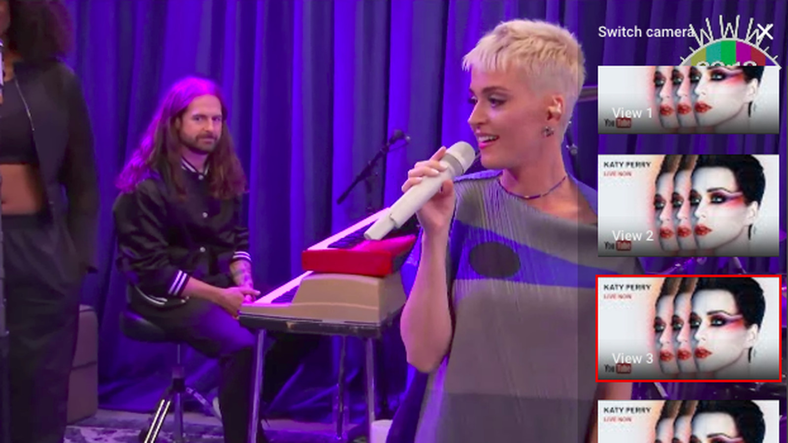 Katy Perry is livestreaming her entire weekend to promote her new album