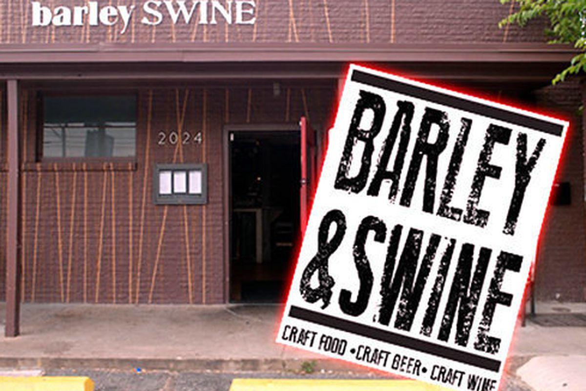Barley Swine, Austin, Texas.