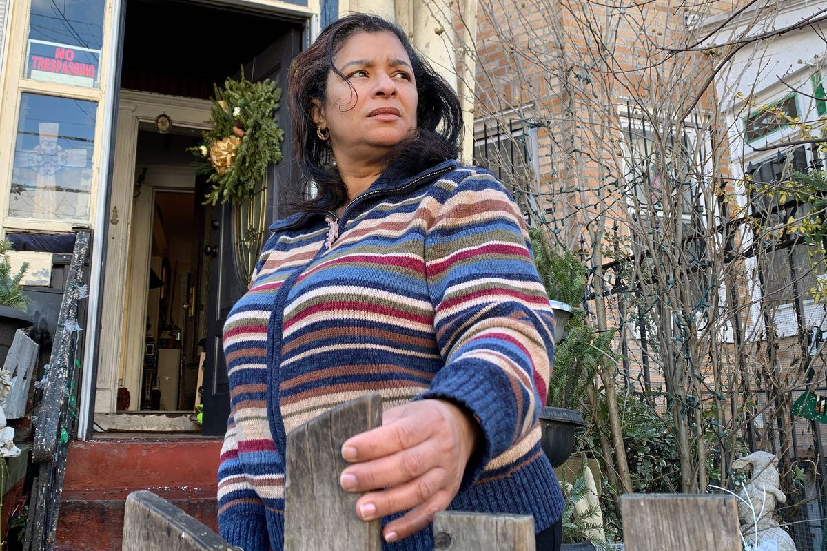 East New York homeowner Mercedes Sandoz says she was flooded with unwanted calls after falling behind on her mortgage payments.