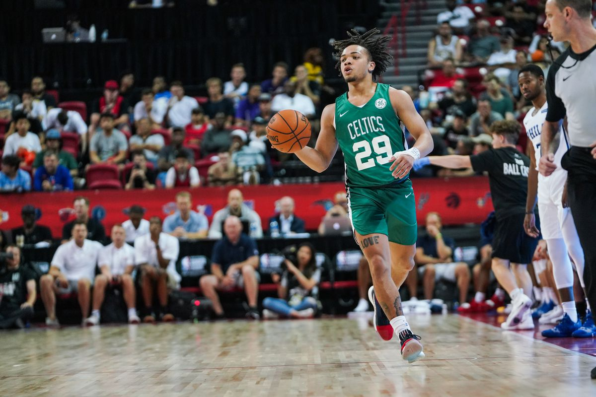 Report Carsen Edwards Signs Guaranteed Contract With The Boston